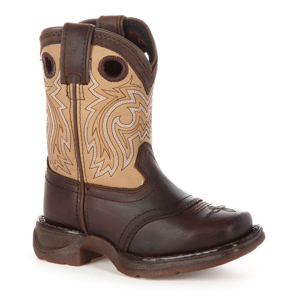 Lil Durango Saddle Kids Western Boots