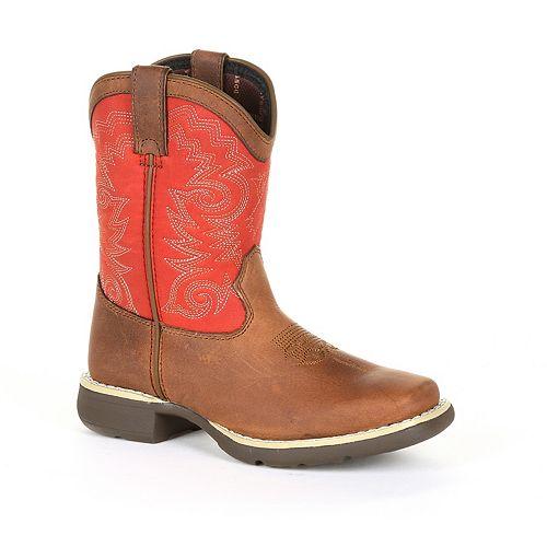 Lil Durango Stockman Kids Western Boots
