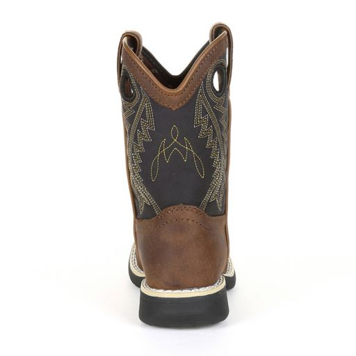 Lil Durango Black Saddle Toddler Western Boots