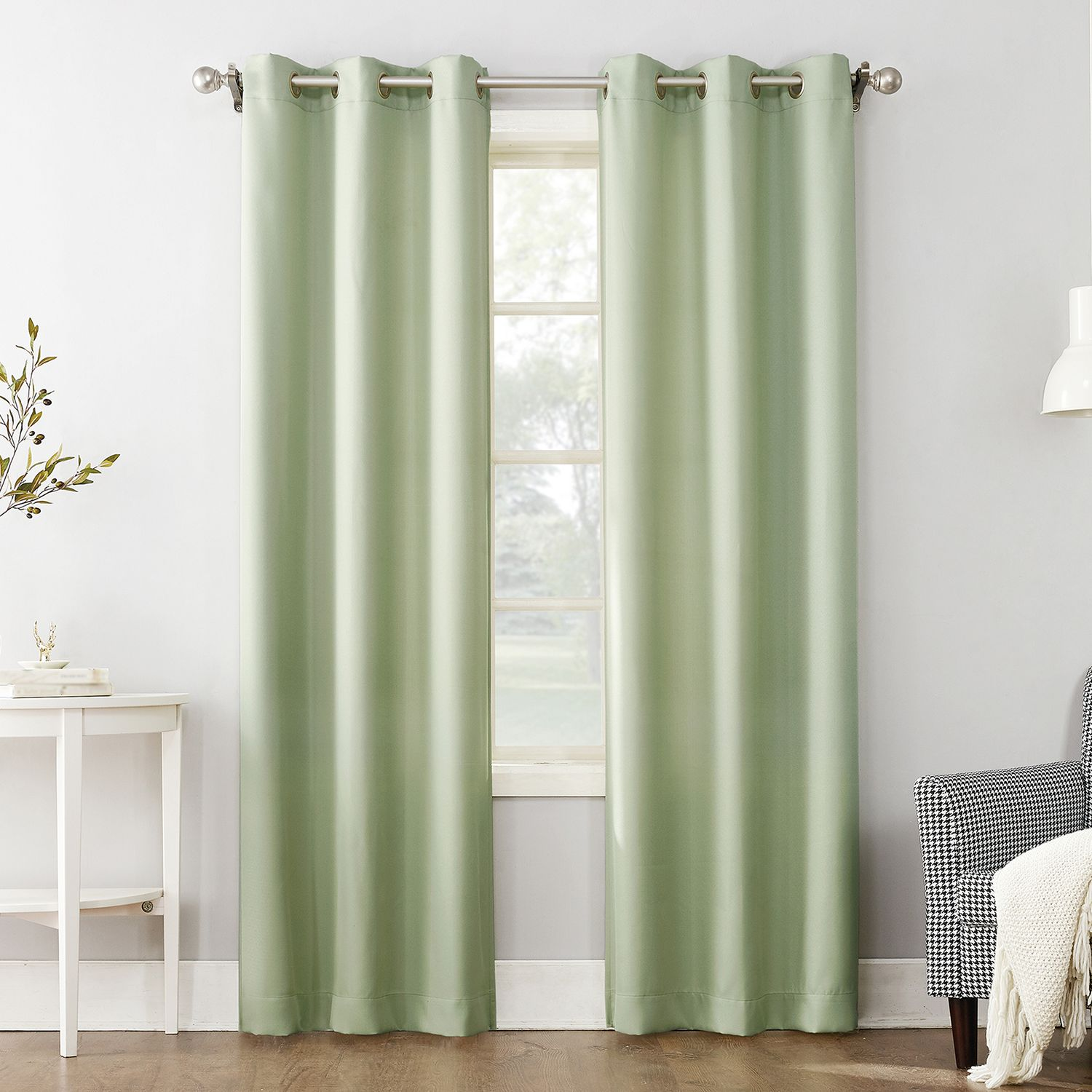 The Big One® Decorative 2 Pack Solid Window Curtains