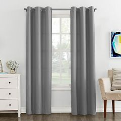 The Big OneR Solid Window Curtain Set