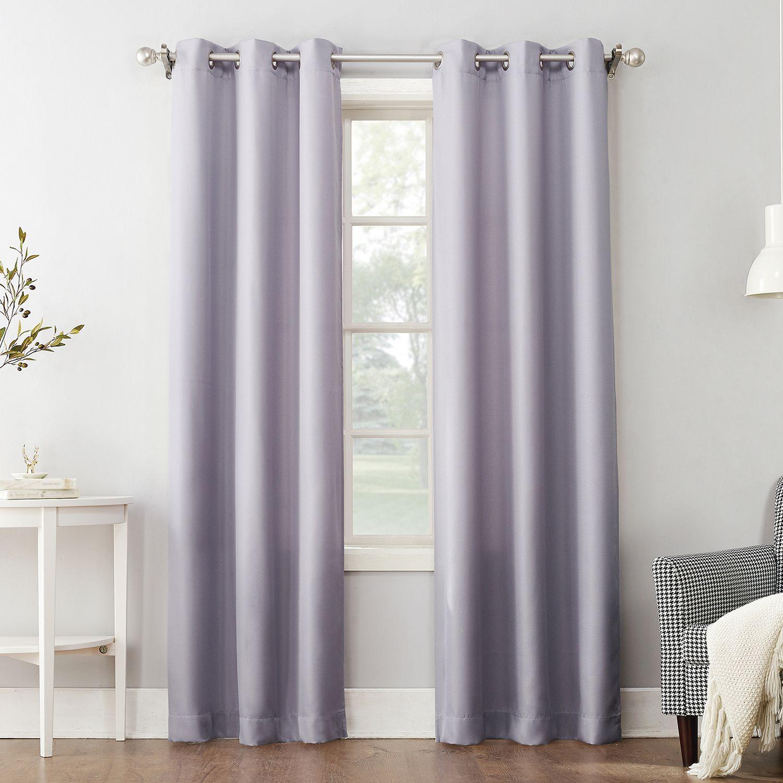 purple curtains kohl s rh kohls com
