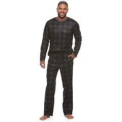 Men's Novelty Brushed Microjersey Sleep Set