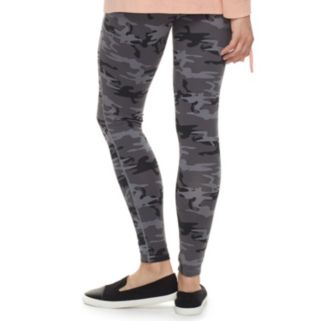 madden NYC Juniors' Ripped Front Leggings