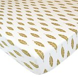 TL Care Sparkle Fitted Crib Sheet