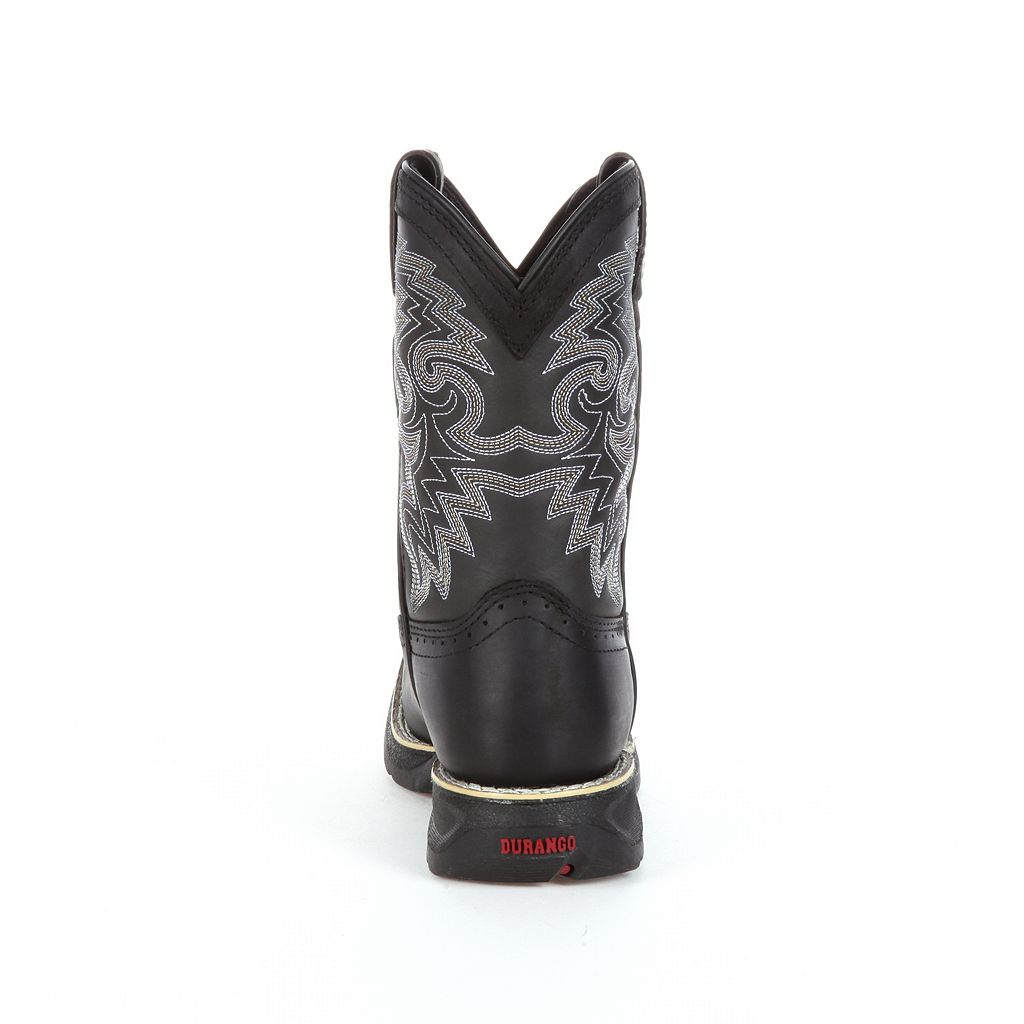 Lil Durango Black Stockman Toddler Western Boots