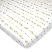 TL Care Patterned Jersey Knit Playard Fitted Sheet