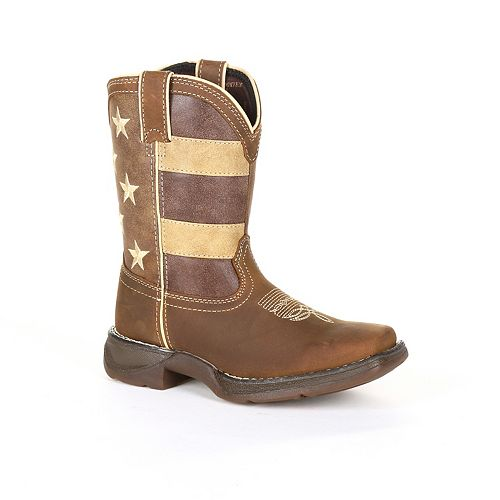 Lil Rebel by Durango Faded Glory Flag Toddler Western Boots