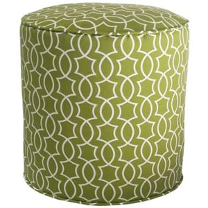 Metje Titan Geometric Indoor Outdoor Small Pouf!