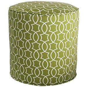 Metje Titan Geometric Indoor Outdoor Small Pouf