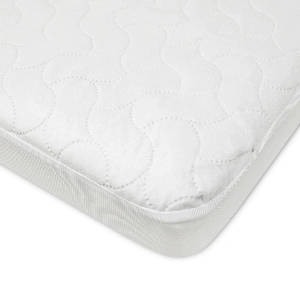TL Care Waterproof Porta/Mini Crib Protective Fitted Mattress Pad Cover