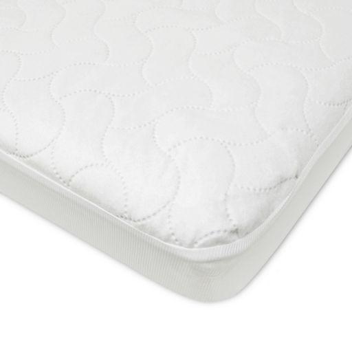 TL Care Waterproof Porta/Mini Crib Protective Fitted Mattress Pad Cover