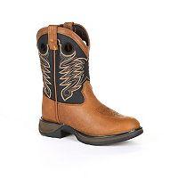 Lil Durango Sadle Kids Western Boots