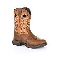 Lil Rebel by Durango Brown Saddle Toddler Western Boots