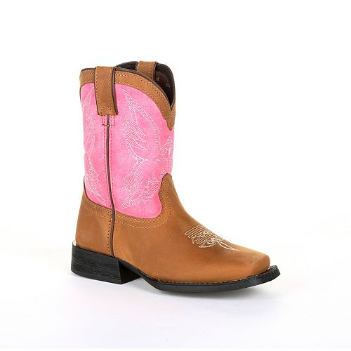 Lil Durango Mustang Toddler Girls' Western Boots