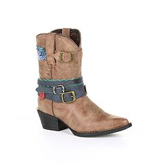 Lil Durango Accessorize Toddler Girls' Western Boots