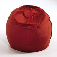 Fun Furnishings Large Microsuede Beanbag Chair - Teen
