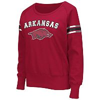 Women's Campus Heritage Arkansas Razorbacks Wiggin' Fleece Sweatshirt