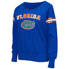 Women's Campus Heritage Florida Gators Wiggin' Fleece Sweatshirt