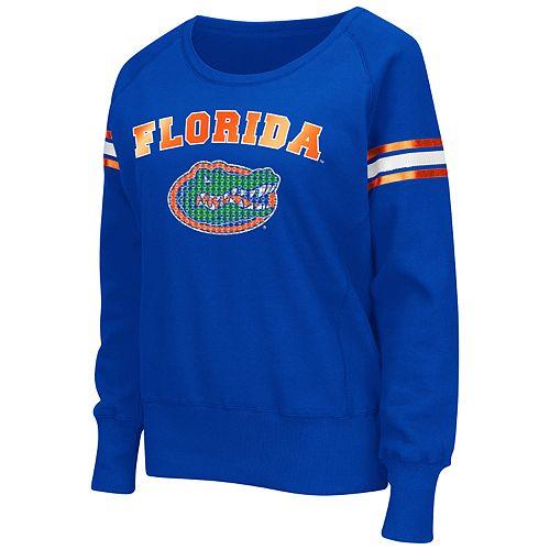 Women's Campus Heritage Florida Gators Wiggin' Fleece Sweatshirt