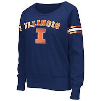 Women's Campus Heritage Illinois Fighting Illini Wiggin' Fleece Sweatshirt