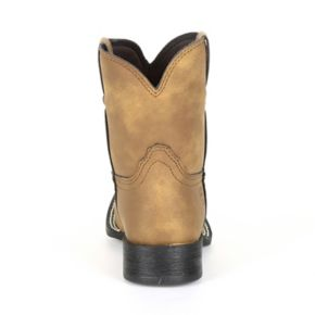 Lil Outlaw by Durango Embossed Logo Kids Western Boots