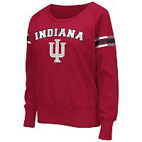 Women's Campus Heritage Indiana Hoosiers Wiggin' Fleece Sweatshirt