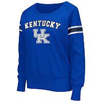 Women's Campus Heritage Kentucky Wildcats Wiggin' Fleece Sweatshirt