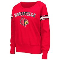 Women's Campus Heritage Louisville Cardinals Wiggin' Fleece Sweatshirt