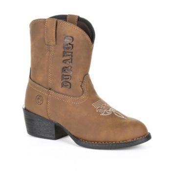 Lil Outlaw by Durango Logo Kids Western Boots