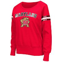 Women's Campus Heritage Maryland Terrapins Wiggin' Fleece Sweatshirt