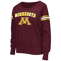 Women's Campus Heritage Minnesota Golden Gophers Wiggin' Fleece Sweatshirt