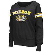 Women's Campus Heritage Missouri Tigers Wiggin' Fleece Sweatshirt