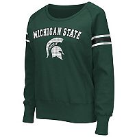 Women's Campus Heritage Michigan State Spartans Wiggin' Fleece Sweatshirt