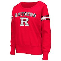 Women's Campus Heritage Rutgers Scarlet Knights Wiggin' Fleece Sweatshirt