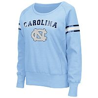 Women's Campus Heritage North Carolina Tar Heels Wiggin' Fleece Sweatshirt