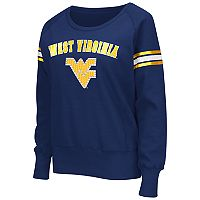 Women's Campus Heritage West Virginia Mountaineers Wiggin' Fleece Sweatshirt