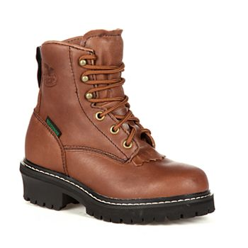 7150e349aae Georgia Boot Kids Waterproof Logger Boots