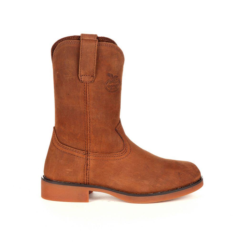 Georgia Boot Carbo-Tec Kids Wellington Work Boots