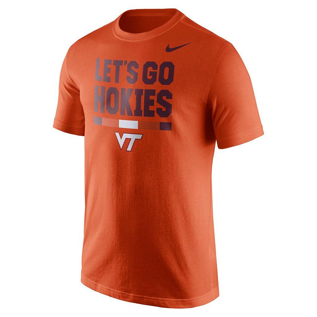 Men's Nike Virginia Tech Hokies Local Verbiage Tee