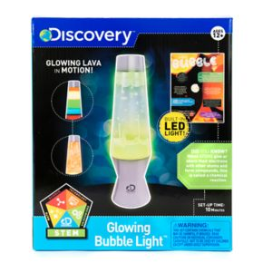 Discovery Glowing Bubble Lamp
