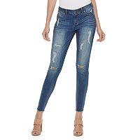 Petite Jennifer Lopez Ankle Skinny Jeans