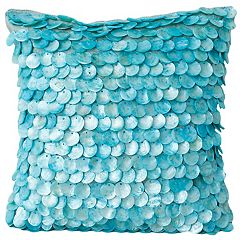 Thro by Marlo Lorenz Capiz Shells Throw Pillow