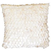 Thro by Marlo Lorenz Capiz Shells Throw Pillow