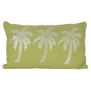 Thro by Marlo Lorenz Patty Palm Tree Oblong Throw Pillow