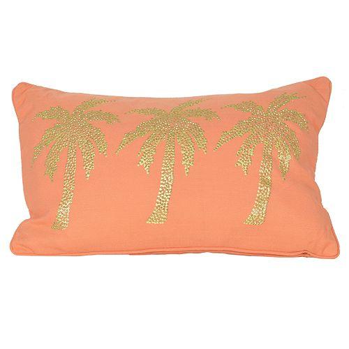 Thro by Marlo Lorenz Patty Palm Tree Oblong Throw Pillow
