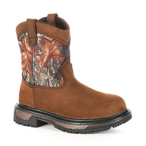 Rocky Ride Wellington Kids Waterproof Boots