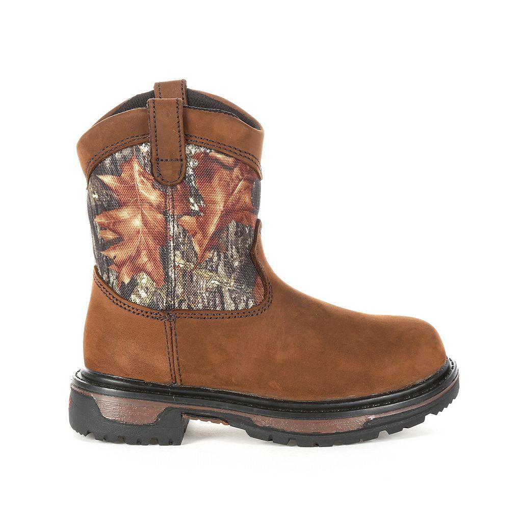 Rocky Ride Wellington Kids Waterproof Boots