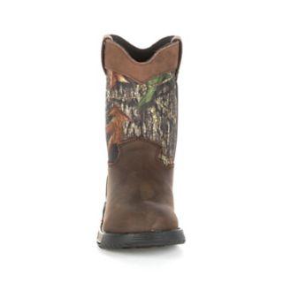 Rocky Wellington Kids Water-Resistant Boots
