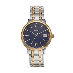 Relic Men's Darrin Two Tone Watch
